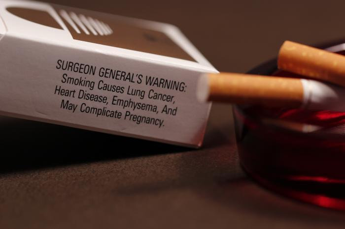 Cigarettes cause lung cancer