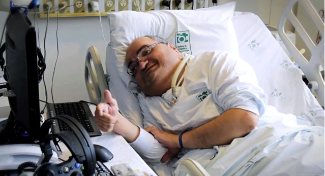 Delicieux Paolo Machado Has Been Unable To Leave His Hospital Bed For The Past 45  Years, Ever Since He Suffered Infantile Paralysis As A Baby. YouTube / CBN