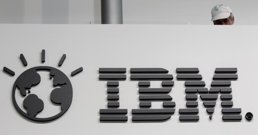 IBM and worker
