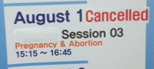 Pro-life Doctors Banned From Presenting Abortion Material At Conference