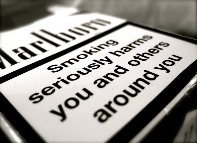cigarette warning