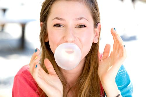 Image result for BUBBLE GUM chewing