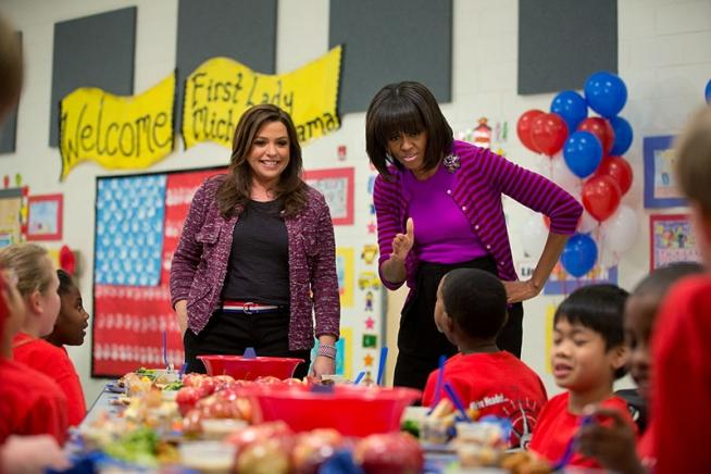 michelle obama celebrating third anniversary of campaign