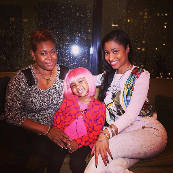 Nicki minaj and nba star john wall team up to fulfill 5 year old with a little help from nba star john wall 5 year old cancer patient damiyah miyah telemaque nelson got the opportunity to meet her celebrity idol nicki m4hsunfo