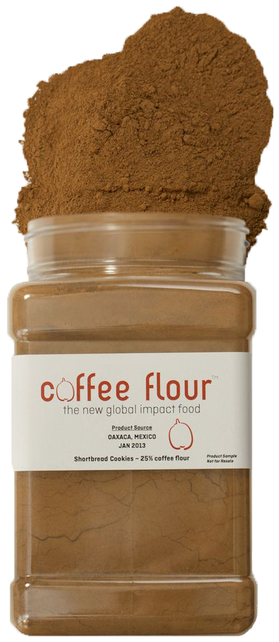 Coffee Flour is a baking ingredient that contains coffee cherries