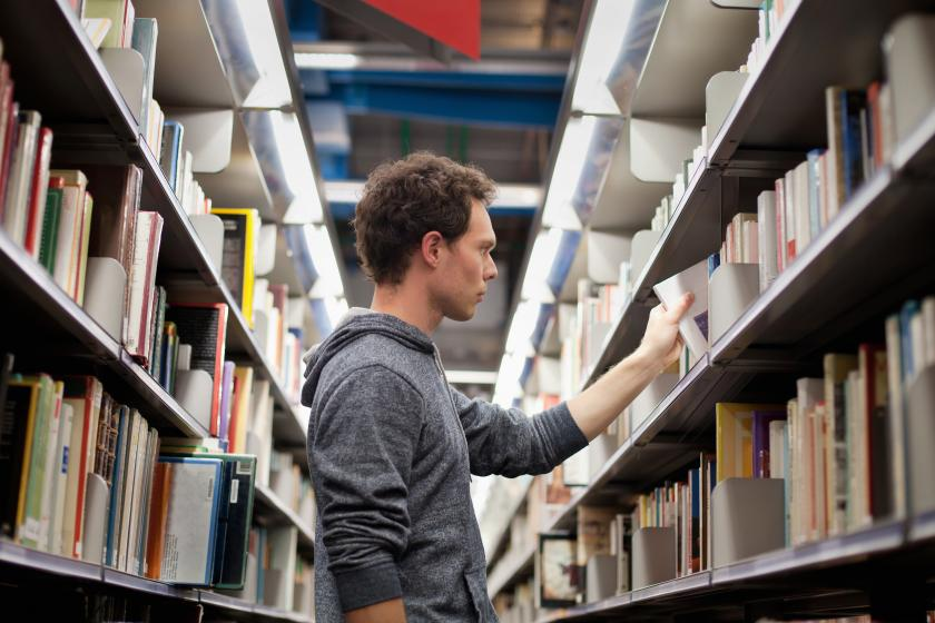 Student looking for books