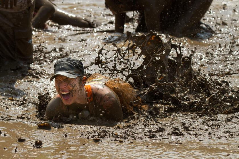 Race Participants Fall Ill After Ingesting Animal Feces From Mud