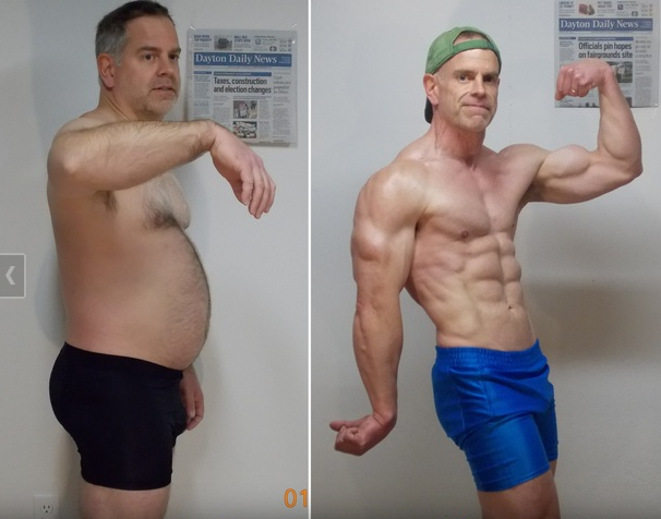Ohio Dad's 40-Pound Weight Loss in 3 Months Makes Him