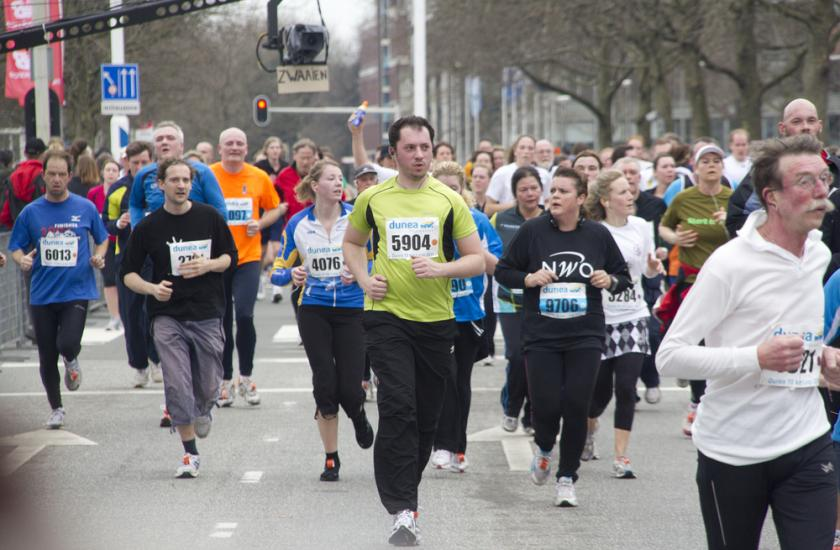 Young and Old Marathon Runners Run At The Same Speed?