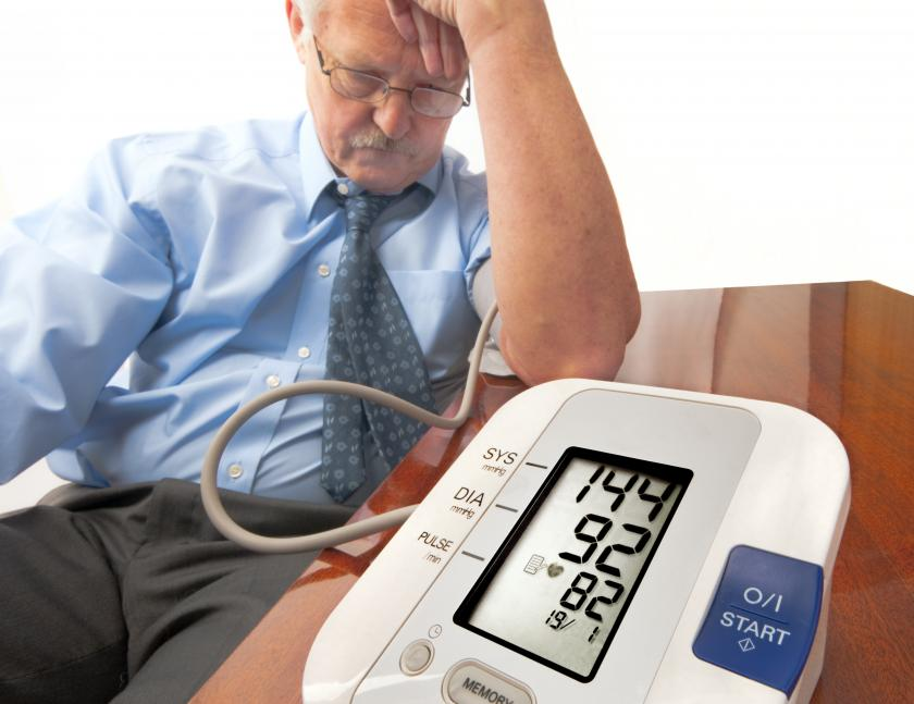 Blood Pressure In Middle Age Affects Later Memory, Thinking