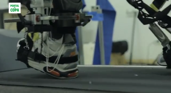Iron Man-like body suit will allow paraplegic to kick first World Cup ball