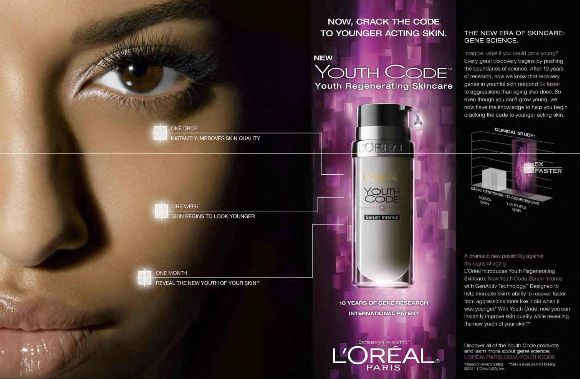Youth Code product made false anti-aging claims