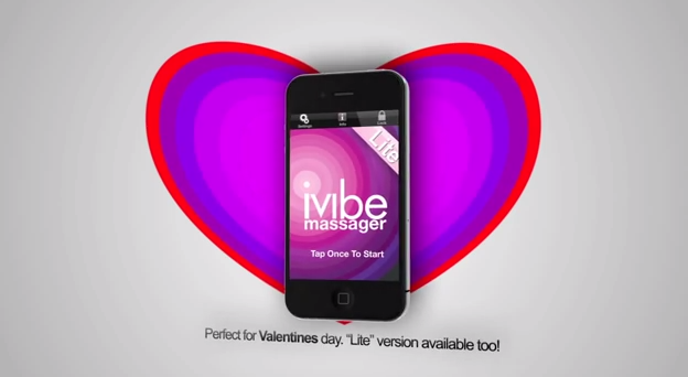 Vibrator that can be controlled by app