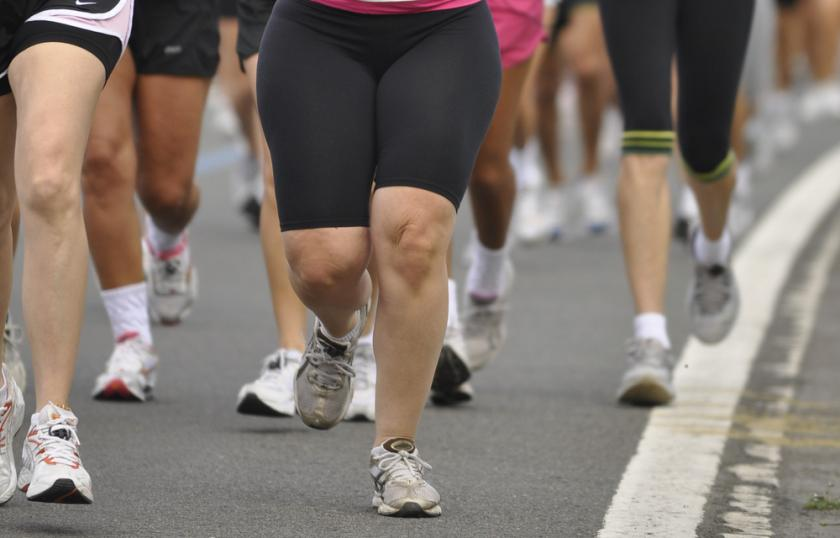 Obese Runners Everywhere Inspired By UK Woman's Marathon Running