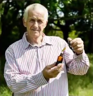 Mike Cutler claims cannabis oil cured his cancer