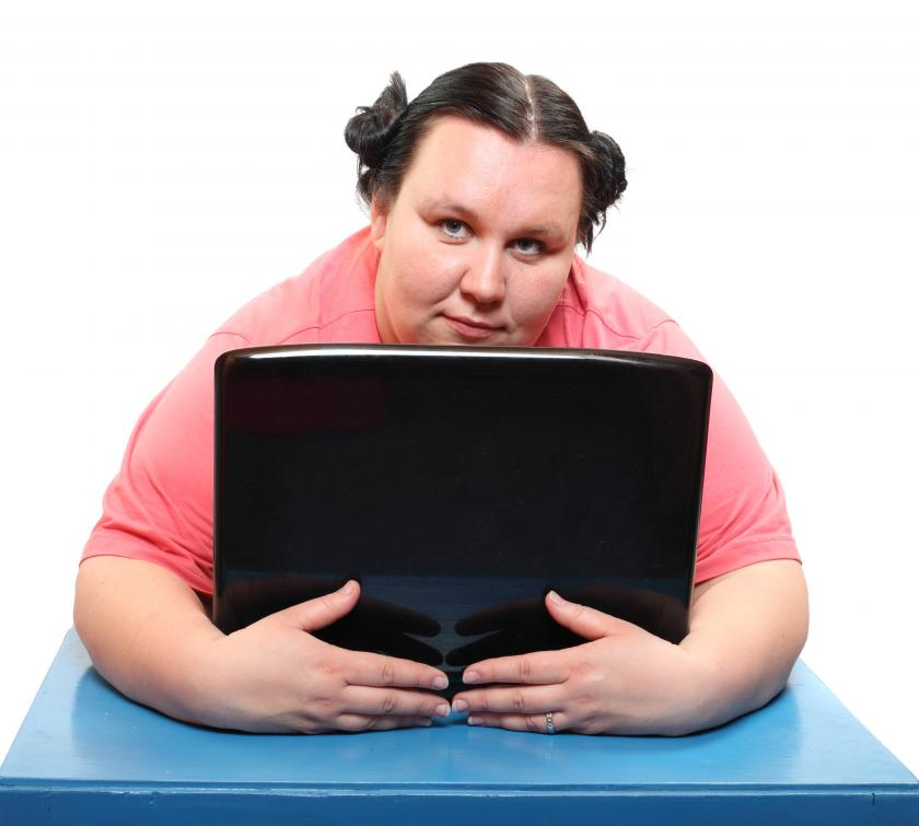 obese worker