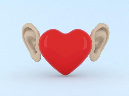 Tickling ears for a healthy heart.