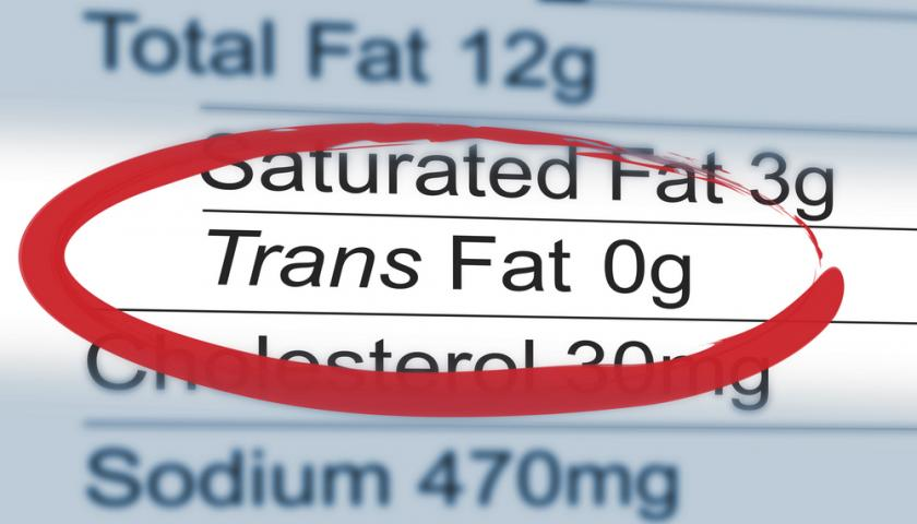 Trans Fat Labeling Requirements