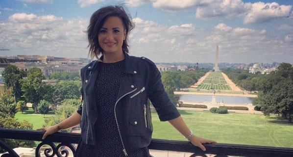At NAMI Convention, Demi Lovato Tells Congress To Pass A Bill This Year For Mental Health