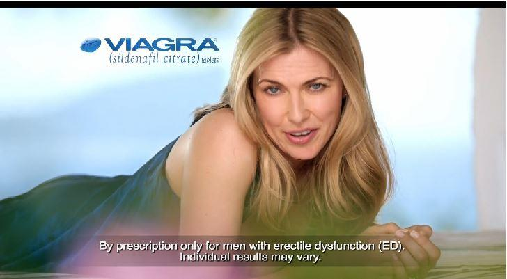 New Viagra Commercial Features A Woman Not A Man