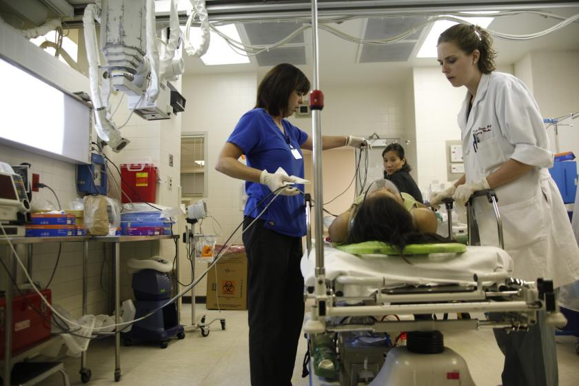 Visits To Er Rose Following Recession What Role Do