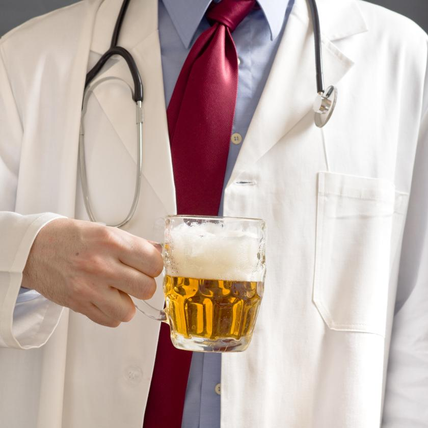 Bar In Hospital For Alcoholics