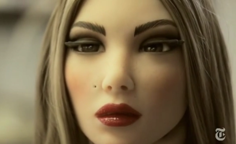 Life-size sex doll that can talk back
