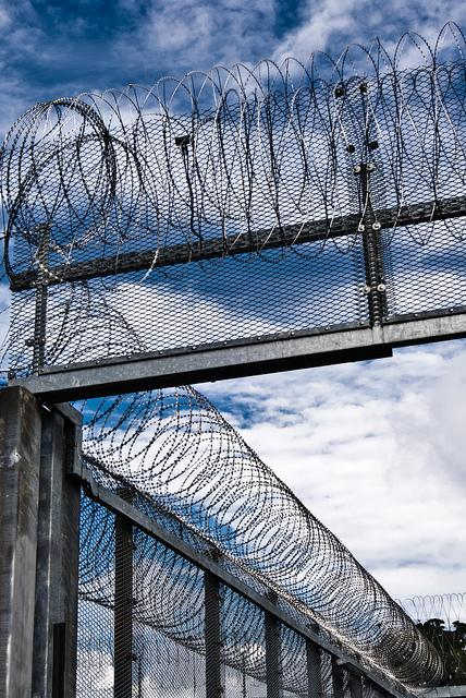 Barbed Wire Fence - Prison