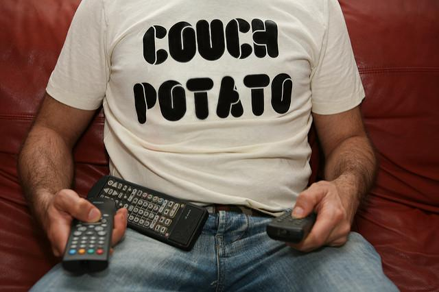 Guy on couch