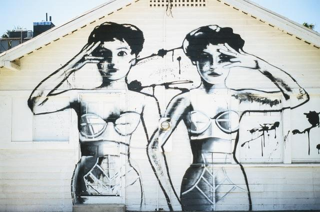 Women graffiti