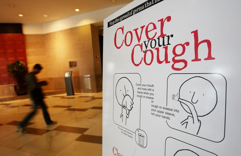 cough sign