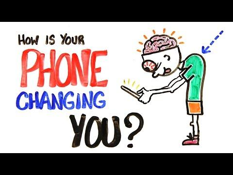 High Cell Phone Usage Alters Body Posture, Brain Function