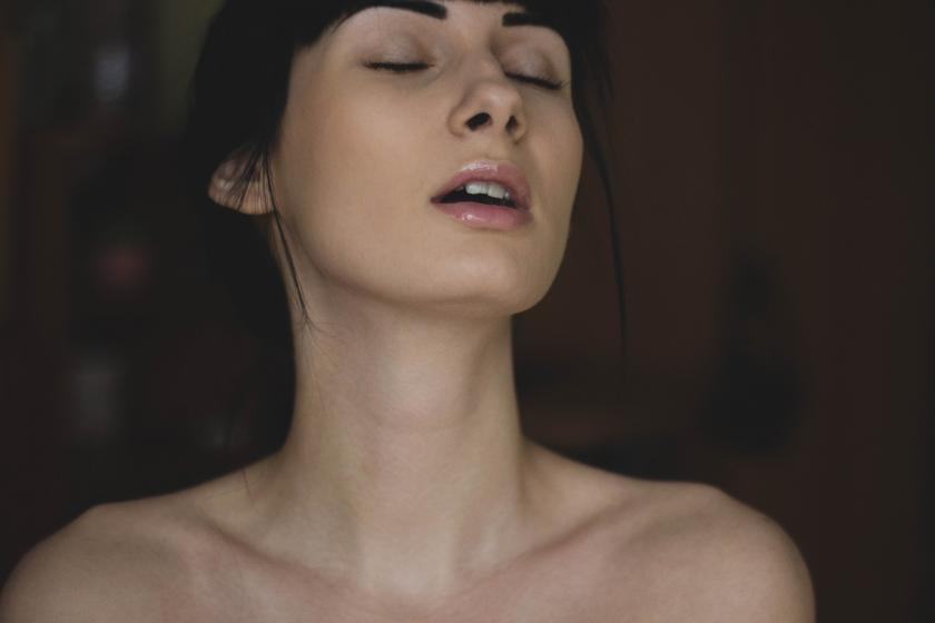 Feeling up and orgasm