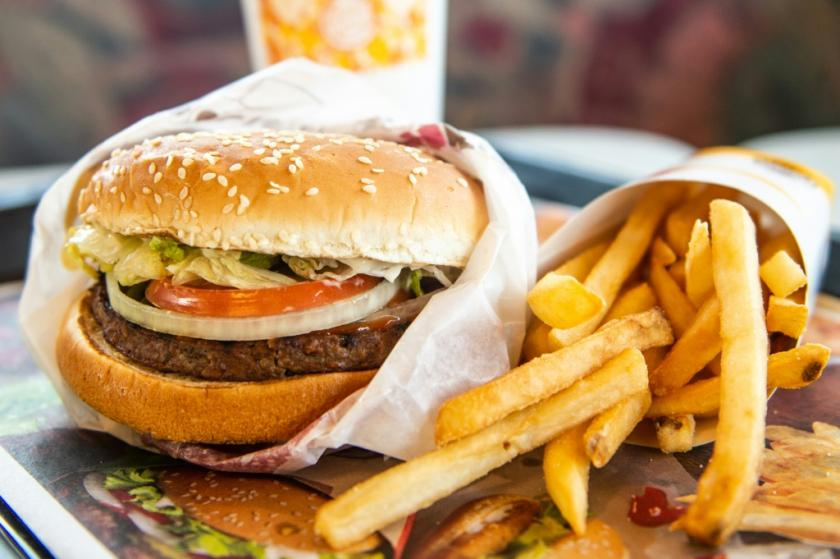 Impossible Whopper and Fries