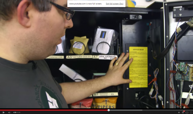 Customized Vending Machine that Tweets your Purchase
