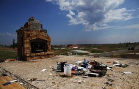 General view of a landscape almost cleared of debris in Joplin, Missouri August 16, 2011. Residents are still recovering and rebuilding from a devastating tornado that ripped through Joplin, in late May, killing nearly 160 people and destroying more than