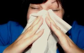 sneezing, allergy