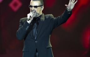 British singer George Michael performs during his European Orchestral tour on stage at Boxen Arena in Herning Monday evening, August 29, 2011