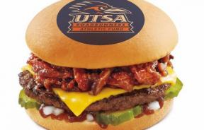 Sonic College Logo Themed Burgers