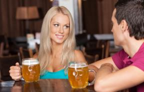 Women who sit near alcohol at bar seen as promiscuous