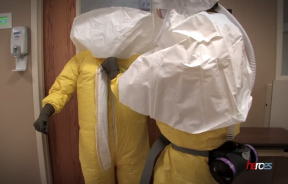 Hazmat Suit Removal