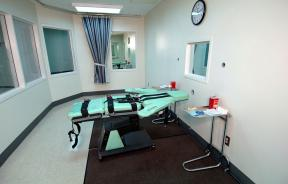 lethal injection execution room