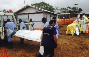 Ebola patients in Kailahun