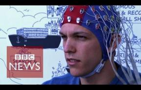 Man Flies Drone With His Brain Using EEG Cap Tracking Neural Activity