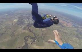 Watch As Skydiver Experiences Seizure During His 12,000-Foot Free Fall Jump