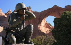 Code Talkers Monument, Navajo Nation