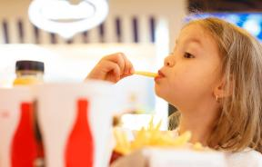 Kids Eating Fast Food On TheDecline