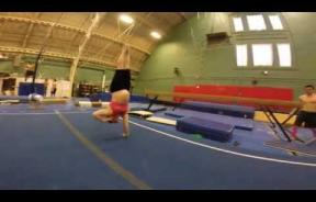 Forget Exercise While Pregnant, This Woman Does Gymnastics At 35 Weeks Of Pregnancy