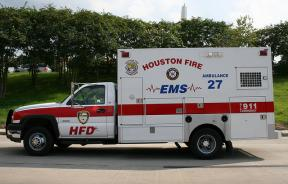Houston Fire Department Ambulance
