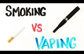 Smoking vs. Vaping: Vaporizers May Lessen Damage Associated With Smoke Inhalation
